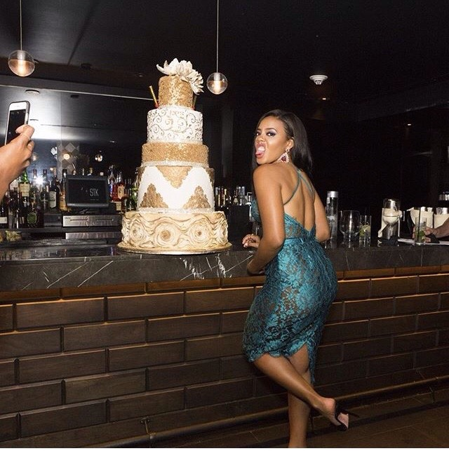 #Throwback To Angela Simmons' chic birthday dinner with friends (See Exclusive Photos)